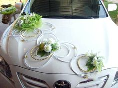 Wedding Cars and The Decoration