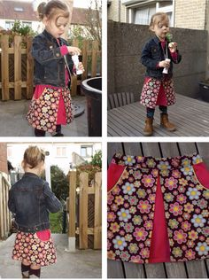 Swing rokje Patroon: Compagnie M  http://magnifieka.blogspot.be