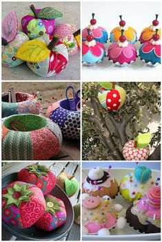 Pincushion inspiration, via Flickr.