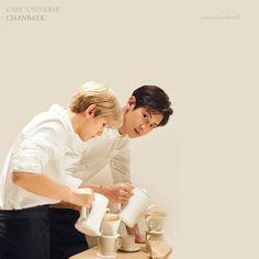 Chanbaek 'Cafe Universe'