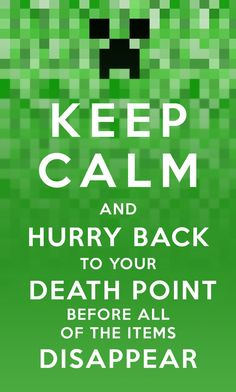 Keep Calm Minecraft by evil-santa @billy marks @Jess Seipp