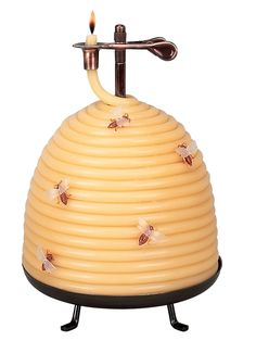 Possibly the coolest candle we've ever seen. And that's saying a lot! 120 Hour Beehive Coil candle, $47.98; homedepot.com. Devon Jarvis  - Redbook.com