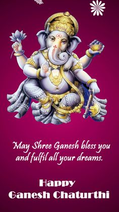 Ganesh images for this ganesh chaturthi - Wallpapers.Wishes. Ganesh Chaturthi Greetings, Happy Ganesh Chaturthi Wishes, Happy Ganesh Chaturthi Images, Beautiful Good Night Images, Good Morning Beautiful Quotes, Good Morning Happy, Shri Ganesh Images, Ganesha Pictures, Ganpati Bappa Wallpapers