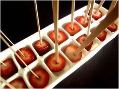 Strawberry Orange Popsicles - Momtastic