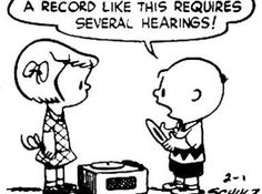 """A record like this requires several hearings!"""
