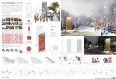 Charles Laurence Proulx Architecte & Gil Hardy-Groleau Architecte (2016): Courtepointe, La Promenade Fleury, Montréal (CA), via competitionline.com