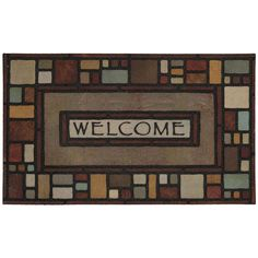 Mohawk® Home Silvia Block Welcome Doormat   19 X