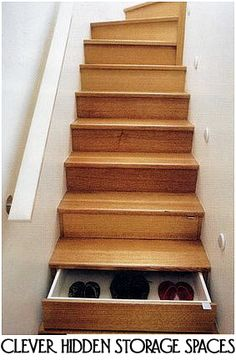 Clever Hidden Storage Spaces that you can have in your home!
