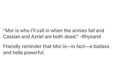 Well I mean there was mention of a fight she had with Amren that brought down a mountain...