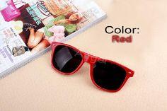 Red Stylish Fashion Glasses