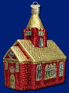 """""""Christmas Cathedral"""" Old World Christmas Ornament"""