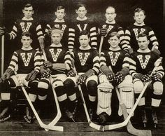 The Vancouver Millionaires hockey team....