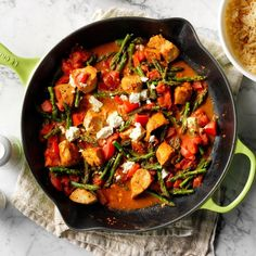 33 Diabetic-Friendly Chicken Dinners Ready in 30 Minutes or Less Easy Diabetic Meals, Diabetic Recipes, Diet Recipes, Recipes Dinner, Diabetic Friendly, Healthy Recipes, Healthy Cooking, Healthy Meals, Yummy Recipes
