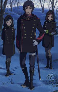 Image via We Heart It https://weheartit.com/entry/173717390/via/30390443 #anime #animegirls #animeboys #owarinoseraph #seraphoftheend #gurenichinose