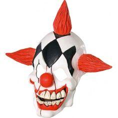 Masque latex Clown laughing