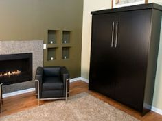 Murphy Bed used in studio living area...in its closed position.