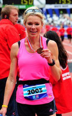 London Marathon celebrity runners finish times: James ... London Marathon, Top Celebrities, Runners, Celebrity, Times, Fashion, Hallways, Moda, Fashion Styles