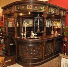 Antique bar.