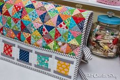 Photos from Quilty Fun by Lori Holt + Giveaway Closed - Fat Quarter Shop's Jolly Jabber