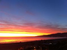 #SantaMonica Bay #Sunset - December 2012