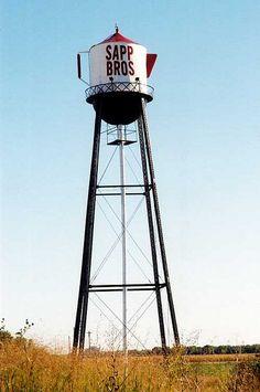 Sapp Bros Coffee Pot Water Tower...   Nebraska