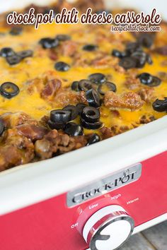 Like Taco Bell's Chili Cheese Burrito? Then you'll love this Taco Bell-Inspired Burrito Casserole! It's an easy slow cooker casserole that you can make during a hectic week.