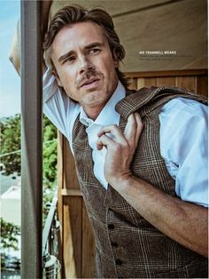 Sam Trammell for the October Issue of Esquire Middle East. Always liked him on True Blood.
