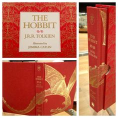 The beauty that is this new 'Hobbit' edition, illustrated by Jemima Catlin. I can not wait.
