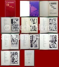 czech avant-garde 1925 Atom Edition Vladimir Majakovskij 150,000.000 Lolita Vladimir, Vladimir Nabokov, Childrens Books, Auction, Erotica, Children's Books, Children Books, Kid Books, Books For Kids