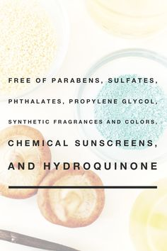 """Our products are consciously formulated for the health and beauty of the skin - free of parabens, sulfates, phthalates, propylene glycol, synthetic fragrances and colors, chemical sunscreens, and hydroquinone. We never, ever test our products on animals. We call this """"Conscious Beauty."""""""