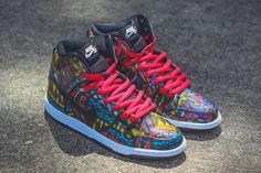 """Concepts x Nike SB Dunk High """"Stained Glass"""" (Detailed Pictures)"""