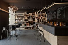 DiVino wine bar by suto , via Behance