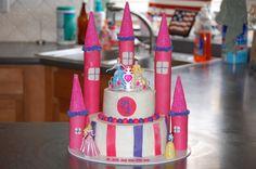 Disney Princess cake!