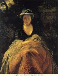Sir Joshua Reynolds. Nelly O'Brien. 1762-64. Oil on canvas. 126.3 x 110 cm. Wallace Collection, London, UK.