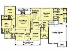 Main Floor Plan BB-2500-2