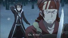 Kirito vs Klein | DReager1's Blog