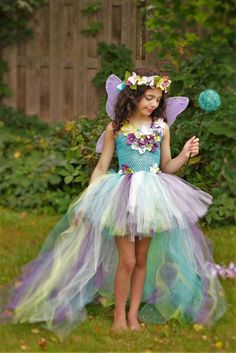 Your place to buy and sell all things handmade Fairy costume dress water fairy dress teal turquoise purple Unicorn Dress, Unicorn Costume, Diy Halloween, Halloween Costumes, Fairy Birthday, Unicorn Birthday Parties, Unicorn Party, Tutu Costumes, Costume Dress