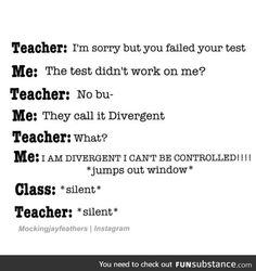 They call it divergent lol