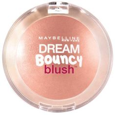 Maybelline New York Dream Bouncy Blush, Coffee Cake, 0.19 Ounce (Pack of 2). Powder-Gel blush. Feels lightweight like a powder, melts into skin like a cream. Bouncy fresh color that lasts.