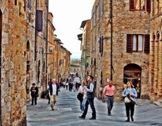 San Gimigniano, Toscana, Italy.