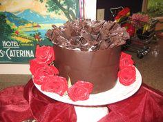 Chocolate Ruffle Cake