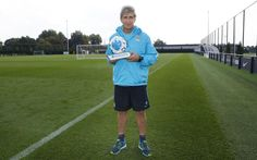 Manuel Pellegrini has won the Manager of the Month award for August