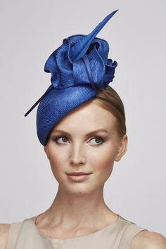 fascinator cobalt blue