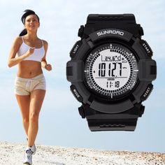 Sport Watches Multifonction 8  Specifications et +,une montre très complet est parfait pour vous accompagner dans vos efforts ou au quotidien.