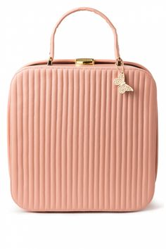 Edith & Ella - 60s Classy Suitcase Bag in Powder Pink...  just perfect for me :D
