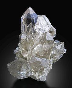 Minerals and Crystals — Rock Crystal - Grimsel, Bern, Switzerland