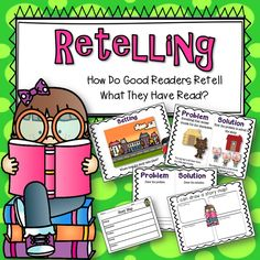 Are you teaching your students about retelling a story? Students can use this packet to practice retelling their stories! Great for small groups, mini-lessons, and center activities.