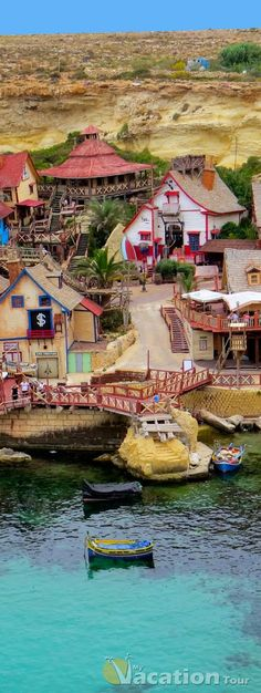 Popeye Village, Malta WorldVentures #1 travel club in the world. Make a living...living www.vacationsooner.com www.donklos.worldventures.biz www.lifestylentrepreneur.live
