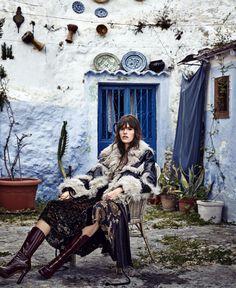 "somerollingstone: "" Vanessa Moody by Nathaniel Goldberg for Harper's Bazaar US August 2015 """