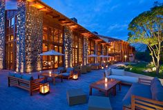 Tambo del Inka, Luxury Collection, Urubamba, Peru. Search command in Amadeus: HLLCCUZ